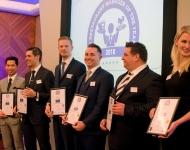 Restaurant Manager of the Year Awards 2018 (Royal Garden Hotel, London, 8 January 2018)